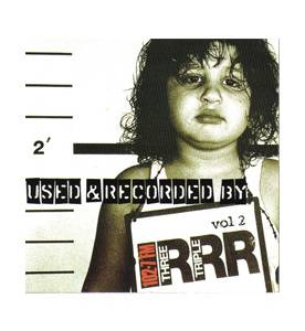 Triple RRR - Used & Recorded By 3RRR FM Vol 2 - Cover