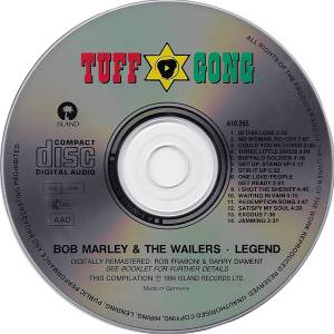 Bob Marley & The Wailers: Legend - The Best Of Bob Marley And The Wailers (CD) - Bild 3