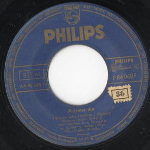 "Frankie Laine: Answer Me (7"") - Bild 1"