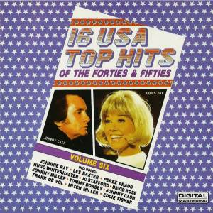 Cover - Jo Stafford: 16 USA Top Hits - Volume Six