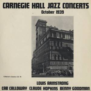Cover - Claude Hopkins: Carnegie Hall Jazz Concerts October 1939