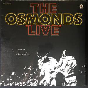Cover - Osmonds, The: Live