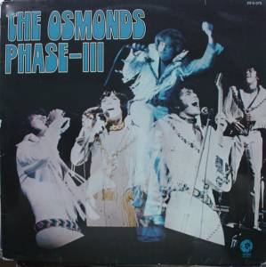 Cover - Osmonds, The: Phase III
