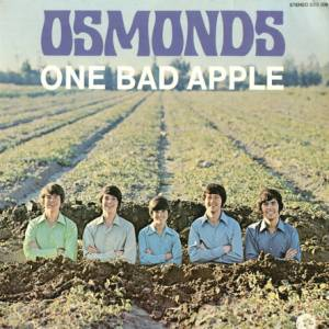 Cover - Osmonds, The: One Bad Apple