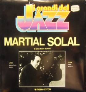Cover - Martial Solal: Martial Solal