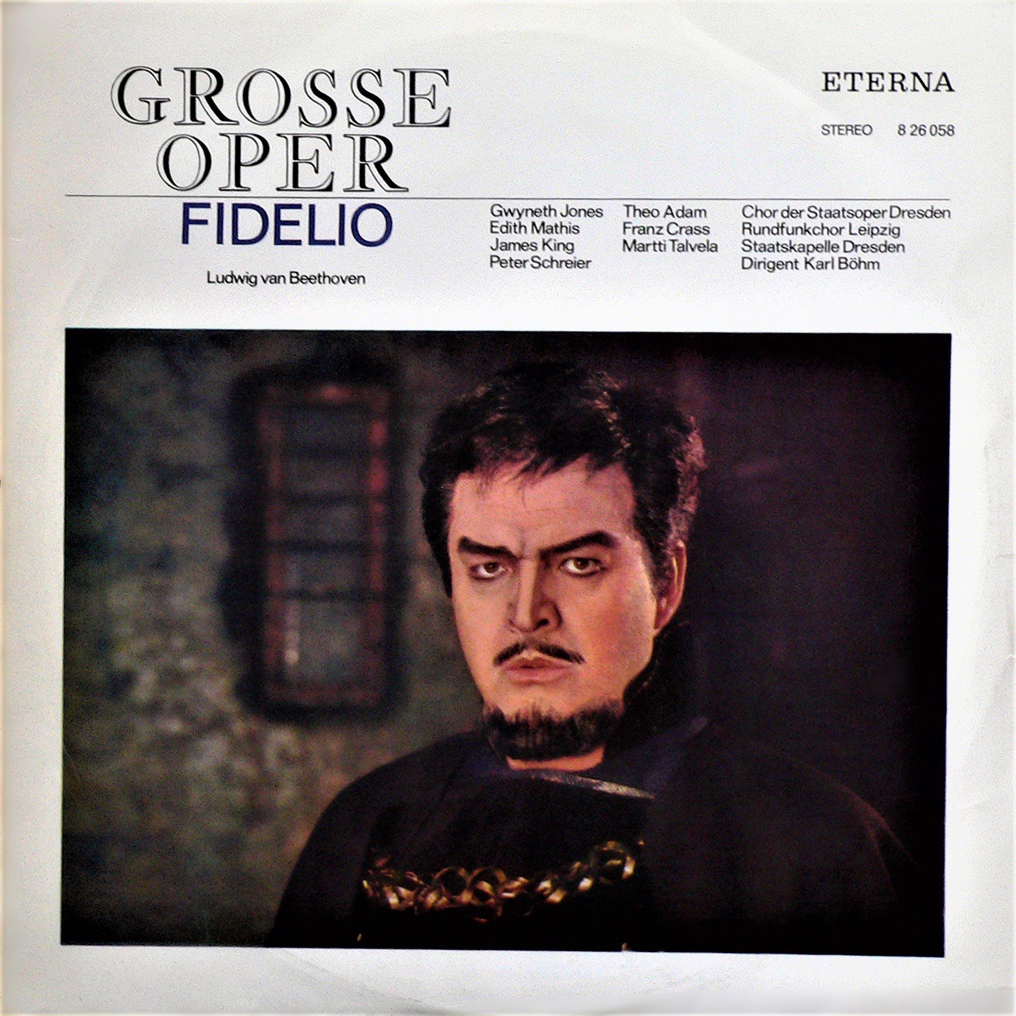 Fidelio - Opernquerschnitt | LP (1973, Re-Release) von Ludwig van Beethoven