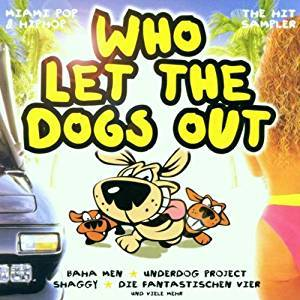 Cover - Siesto: Who Let The Dogs Out