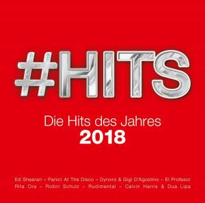 Cover - Max Giesinger: #Hits 2018 - Die Hits des Jahres
