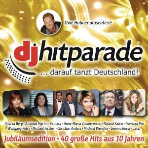 Cover - Glasherz: DJ Hitparade - Jubiläumsedition