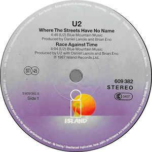 "U2: Where The Streets Have No Name (12"") - Bild 3"
