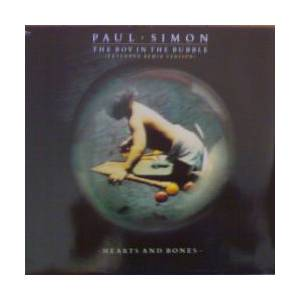 Paul Simon: Boy In The Bubble, The - Cover