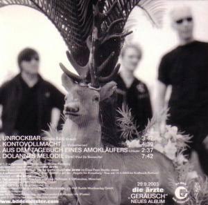 Die Ärzte: Unrockbar (Single-CD) - Bild 3