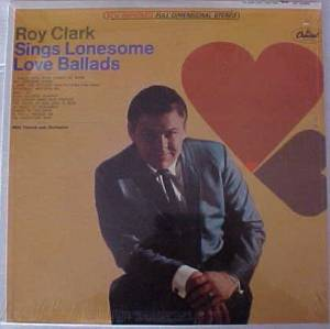 Cover - Roy Clark: Roy Clark Sings Lonesome Love Ballads