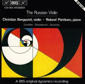 Cover - Alfred Schnittke: Russian Violin, The