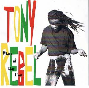 Cover - Tony Rebel: Vibes Of The Time