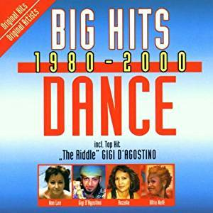 Cover - DJ Visage: Big Hits 1980 - 2000 Dance