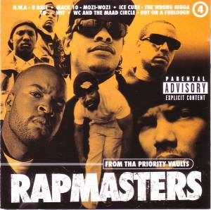 Cover - MC Ren: Rapmasters: From Tha Priority Vaults Volume 4