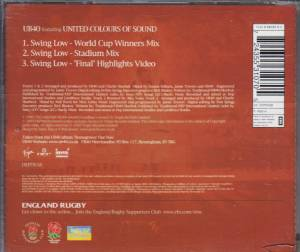 UB40 Feat. United Colours Of Sound: Swing Low (Single-CD) - Bild 2