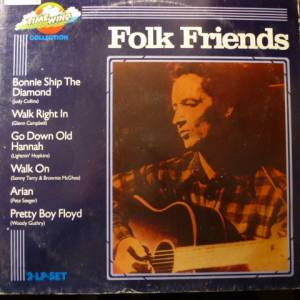 Cover - Barry McGuire & The Sherwood Singers: Folk Friends