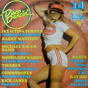 Cover - High Inergy: Disco Dancin' (14 Original Hits)
