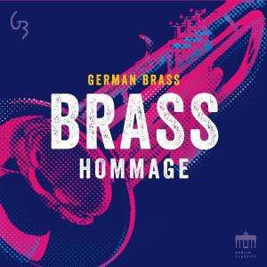 Cover - Herman Hupfeld: German Brass: Brass Hommage