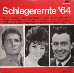 Cover - Lilly Ahrens: Schlagerernte '64