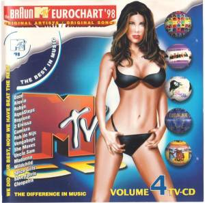 Cover - Camisra: Braun MTV Eurochart '98 - Volume 4, The