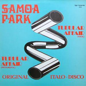 Samoa Park: Tubular Affair - Cover