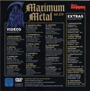 Metal Hammer - Maximum Metal Vol. 120 (DVD) - Bild 2