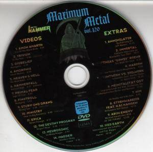 Metal Hammer - Maximum Metal Vol. 120 (DVD) - Bild 3