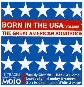 Mojo # 146 - Born In The USA  volume 1  -The Great American Songbook - Cover