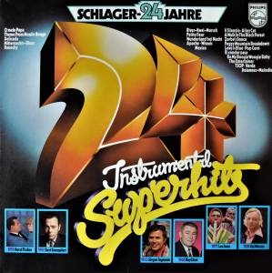 Cover - Bill Justis And His Orchestra: 24 Schlagerjahre - 24 Instrumental Superhits