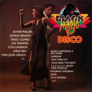 Cover - V.I.P. Connection: Black Magic Disco
