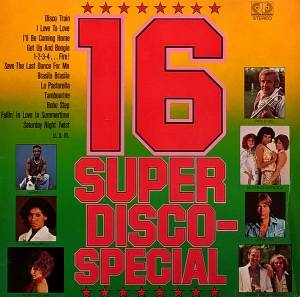 Cover - Funky Turkey: 16 Super Disco-Special