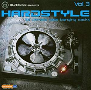 Cover - DJ Session One: Blutonium Presents Hardstyle Vol. 3