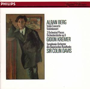 Cover - Alban Berg: Violin Concerto / 3 Orchestral Pieces