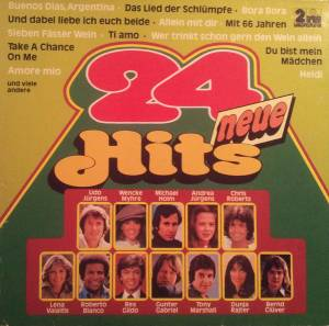 Cover - Chris Robert: 24 Neue Hits