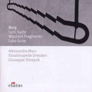 Alban Berg: Lyric Suite / Wozzeck Fragments / Lulu-Suite - Cover