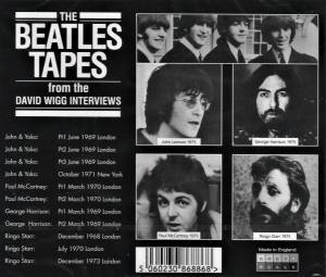 The Beatles: The Beatles Tapes (From The David Wigg Interviews) (2-CD) - Bild 2