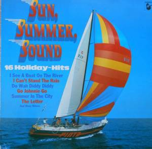 Cover - Z: Sun, Summer, Sound - 16 Holiday Hits