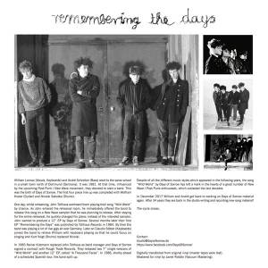 "Days Of Sorrow: Remembering The Days (12"") - Bild 3"