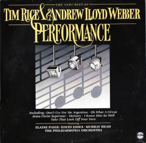 Cover - Helen Terry: Performance - The Very Best Of Tim Rice & Andrew Lloyd Webber