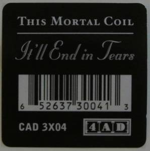 This Mortal Coil: It'll End In Tears (LP) - Bild 2