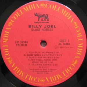 Billy Joel: Glass Houses (LP) - Bild 3