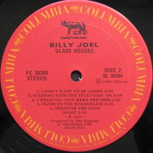 Billy Joel: Glass Houses (LP) - Bild 4