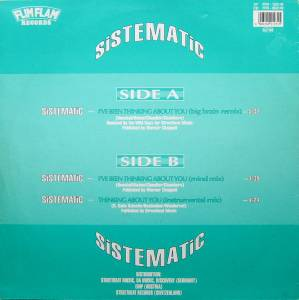 "Sistematic: I've Been Thinking About You (12"") - Bild 2"