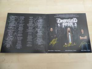 Deserted Fear: Drowned By Humanity (LP) - Bild 2