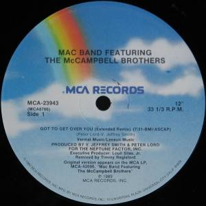 "Mac Band: Got To Get Over You (12"") - Bild 2"