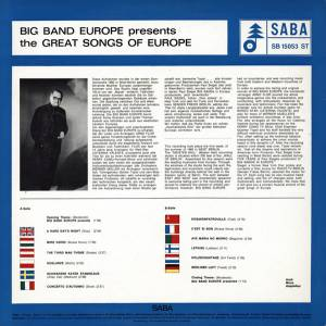 Big Band Europe: Presents The Great Songs Of Europe (LP) - Bild 2