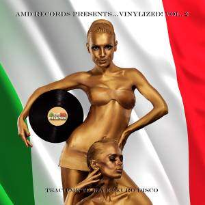 Cover - Mauro: Amd Records Presents... Vinylized! Vol. 2